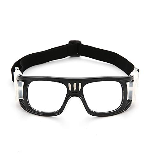 CZSM Outdoor Sportbrille, Anti-Fog Brillen, Schutzbrillen für Herren und Damen Fußball Basketball,Black