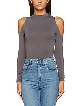 New Look Damen Bluse Cold Shoulder