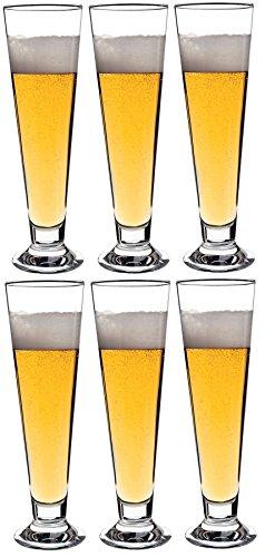 BORMIOLI ROCCO Palladio Verres de bière – Box of 6–300 ML (10.5oz)