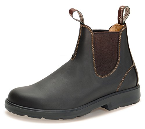 MOONAH Ladies' Town & Country Chelsea Boots Light | Dark Brown | UK 8.5 / EU 42.5