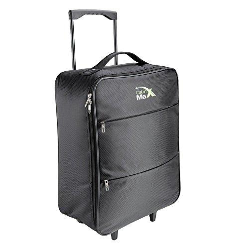 cabin-max-stockholm-lightest-ripstop-cabin-approved-trolley-bag-145kg-55x40x20cm-44l-capacity-black