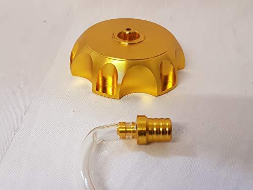 Orange importazioni Ltd FC010oro anodizzato carburante benzina tappo e tubo di sfiato per 110cc 125cc 140CC Dirt/Pit Bike