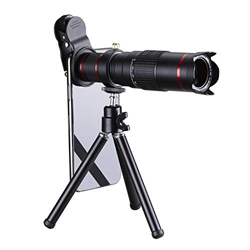 SJSXTLLL Cellphone Mobile Phone 22x Camera Zoom Optical Telescope Telephoto Lens for Samsung for iPhone 8 7 Plus for Huawei for Sony for LG for Xiaomi