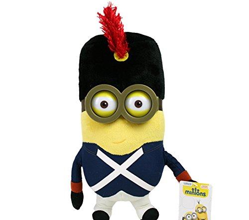 28cm Minions Plüschfigur, Bob mit Kostüm Französischer (Minion Kostüm Bob)