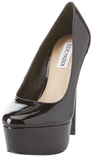 Patent Chiusa Nero Deserve Black Tacco Punta Donna Scarpe Steve Col Madden WzZx66q4