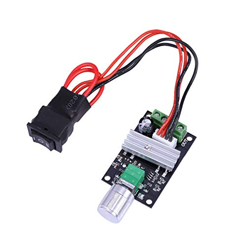 100% True Pwm Dc Motor Speed Controller 12v 24v 36v 48v 60v 10a Aesthetic Appearance Motors & Parts Home Improvement
