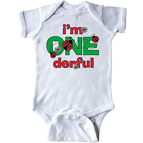 Huahai Onederful Ladybug 1st Birthday Infant Creeper - 12mo-outfit