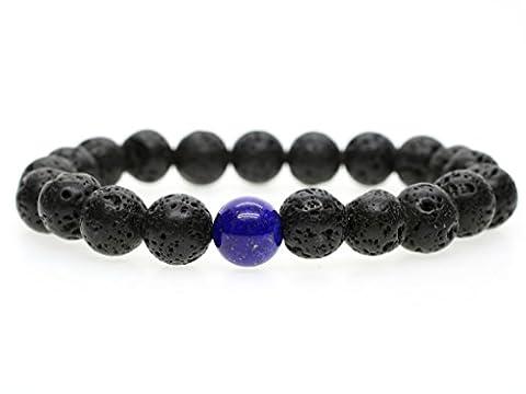 Bracelet 16 Cm - 10mm Bracelet Homme Pierres Semi-Précieuses Perles Mala