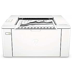 HP LaserJet Pro M102a Laserdrucker (Schwarzweiß Drucker, USB) weiß
