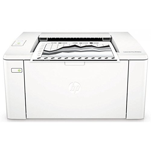 HP Laserjet Pro M102w Laserdrucker (Drucker, WLAN, JetIntelligence, HP ePrint, Apple Airprint, USB, 600 x 600 DPI) Weiß (Apple Stock)