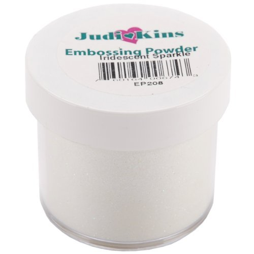Judikins EP2-08 Embossing Powder, 2-Ounce, Iridescent Sparkle by Judikins -