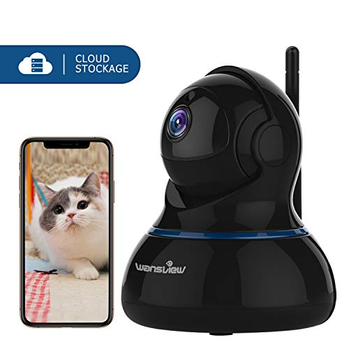 wansview IP Camera, 1080P Wireless Home Security Camera With Motion  Detection, Night Vision, 2-Way Audio and Pan Tilt for Baby, Elder, Pet,  Nanny