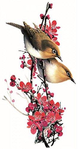 Tatouages Oiseaux Fleurs