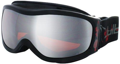Julbo CASSIOPEE Brillen, schwarz/rot (Polarisierte Ski-schutzbrillen Schwarz)