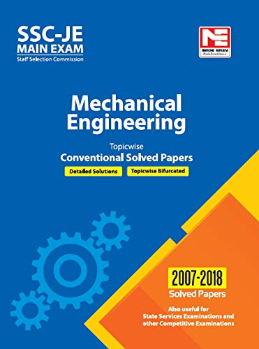 SSC : JE Mechanical Engineering - Previous Year Conventional Solved Papers