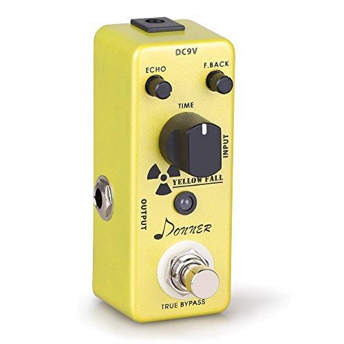Donner Yellow Fall Delay Gitarre Effektpedal Analog Delay Pedal