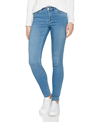 Vero Moda Seven Nw, Jeans Femme Bleu (Light Blue Denim)
