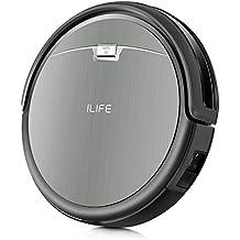 ILIFE A4s Robot Aspirapolvere, Molteplici Modalità di Pulizia, Auto-ricarica Sensori Anti-Caduta, Adatto a Pavimenti e Tappeti