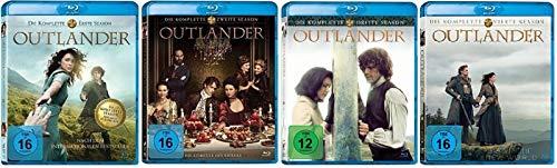 Outlander Staffel 1-4 (1+2+3+4, 1 bis 4) [Blu-ray Set]