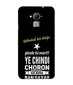 Fuson Designer Back Case Cover for Coolpad Note 3 Lite :: Coolpad Note 3 Lite Dual SIM (Ye Chindi Choron Ka Adda Boy Youth Young Man)