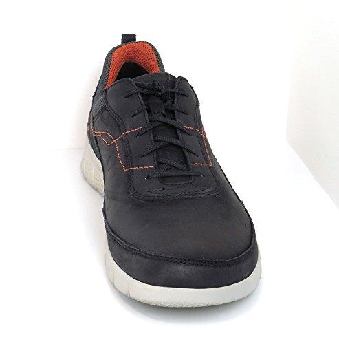 Josef Seibel Herren Cliff 09 Sneaker Schwarz (Schwarz-Kombi)