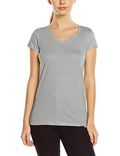 Stedman Apparel Megan (V-neck)/St9130 Premium - T-shirt - Femme Gris - Gris