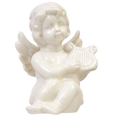 Holy Art Baby Kind Engel Figur Statue Glas. Christian, katholischen, Jesus, Haus, Hochzeit, Garten Decor. 4in.