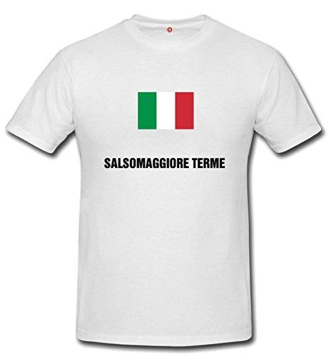 T-shirt Salsomaggiore terme bianco