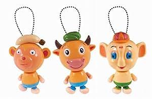 Lot de 2 Drôle animaux jouets liquidation jouet pour bébé [couleur aléatoire]