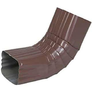 AMERIMAX HOME PRODUCTS 4526419 3x4 Aluminum A Elbow, Brown