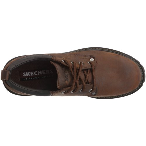 Skechers Tom Cats, Oxfords homme Marron (Dark Brown)