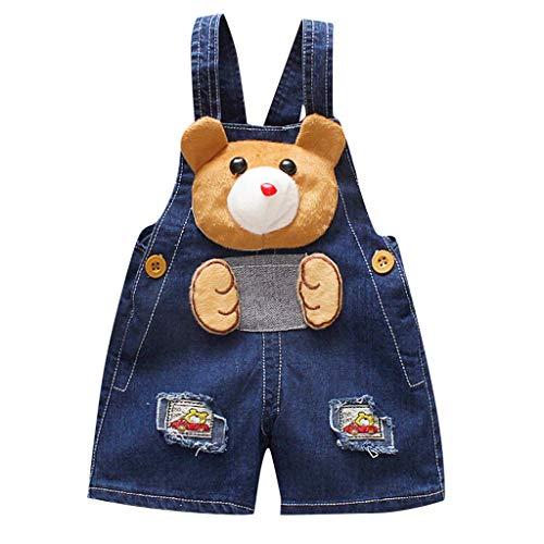 Pantalones Vaquero Cortos Bebes Niñas Niños Recién