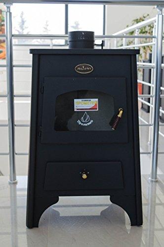 Hohe Effiziente Holz-Ofen Kamin für direkte Heizung prometey ayfa 8kW (Kamin Heizung Holz Kamin)