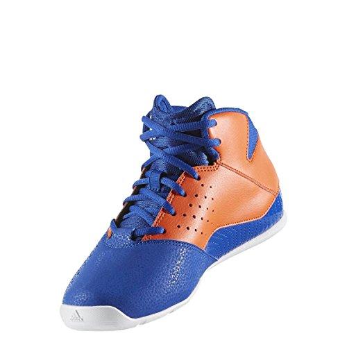 adidas Nxt Lvl Spd V Nba K, Chaussures de Basketball Mixte Enfant Bleu (Azul/naranj/ftwbla)
