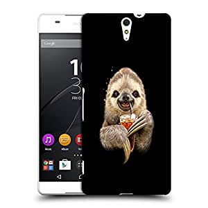 Snoogg Animal Drinking Coke Designer Protective Back Case Cover For SONY XPERIA C5 ULTRA