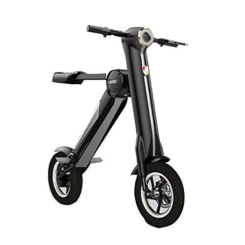 GRASSAIR Mini faltbares elektrisches Fahrrad, eine Sekunde faltbar, ultraleichter, tragbarer Lithiumbatterie-Roller für Erwachsene, für Männer und Frauen (Rampe Für Fahrräder Oder Roller)