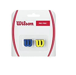 Wilson Profeel Tennis Vibration Dampener (Blue/Yellow)