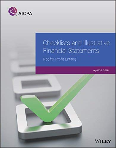 Checklists and Illustrative Financial Statements (Aicpa)