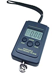 Báscula digital Báscula de pesca, Pesca, también para maletín, equipaje, hasta 40kg, deportes, Pesca Pescado Báscula, Pesca
