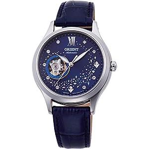 Orient Reloj Analógico para Unisex Adultos de Automático con Correa en Cuero RA-AG0018L10B