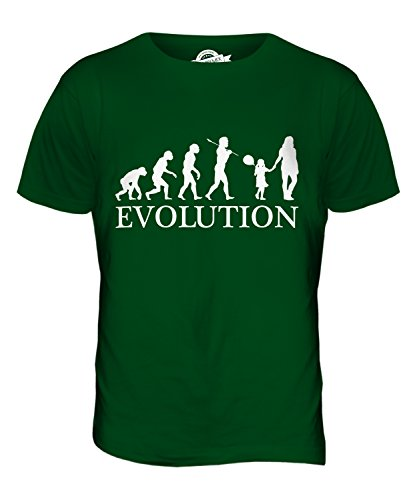 CandyMix Geburtstag Mädchen Evolution Des Menschen Herren T Shirt Flaschengrün