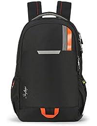 Skybags Komet 49 Ltrs Black Laptop Backpack (SBKOM01BLK)
