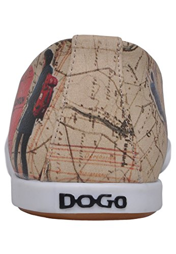 DOGO Travel Lover Damen Ballerina Beige