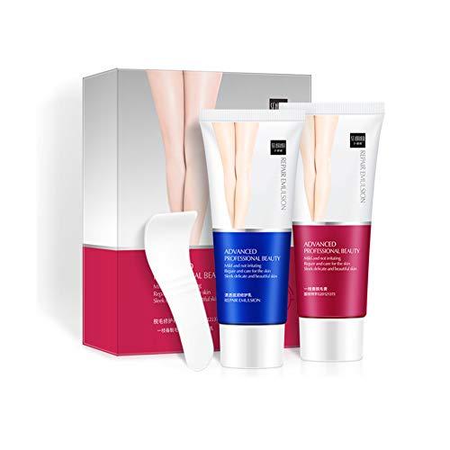 Hand Repair Lotion (Ardorlove Hair Removal Cream for Women & Men, Hair Remover Cream and Skin Repair Lotion Set, Painless Moisturizing Skin Depilatory Kit)