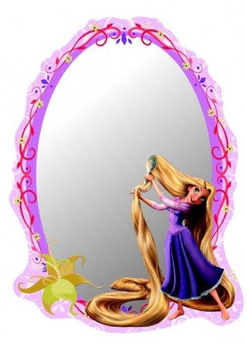 Kinder Spiegel Kinderzimmer - Rapunzel