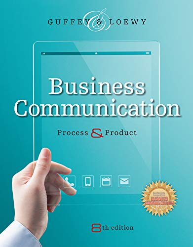 Pdf download business communication process and product with business communication process amp product 9781305957961 process and product with student premium website printed access card mary ellen guffey 3 8 out of 5 fandeluxe Images