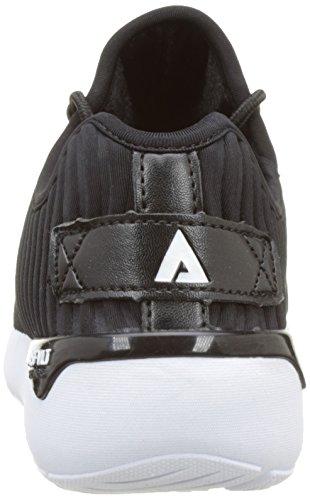 Asfvlt - Speed, Scarpe da ginnastica Unisex – Adulto Noir (Black Wavy)