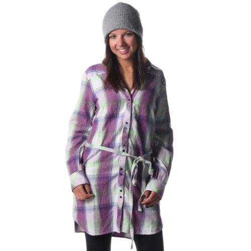 Roxy Mahina 1Plaid robe pour femme femme gloxinia