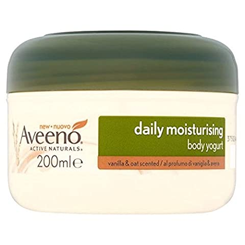 Aveeno Daily Moisturising Body Yogurt, 200 ml, Vanilla and Oat Scented