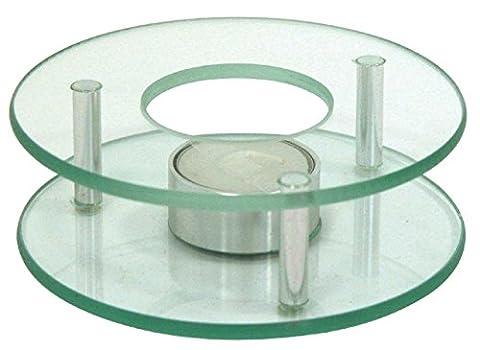 SIDCO ® Stövchen Teewärmer Teekanne Speisenwärmer Warmhalteplatte Untersetzer